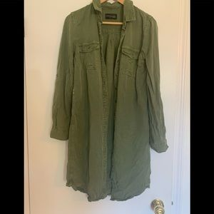 Parasuco Jeans Green Tunic/ Dress Size S